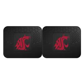Washington State University  2 Utility Mats Rug Carpet Mat