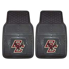 Boston College  2-pc Vinyl Car Mat Set