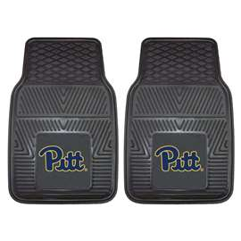 University of Pittsburgh  2-pc Vinyl Car Mat Set