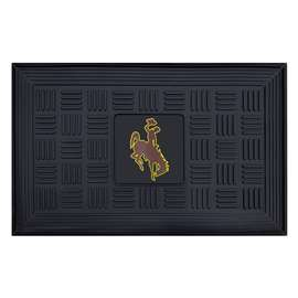 University of Wyoming  Medallion Door Mat