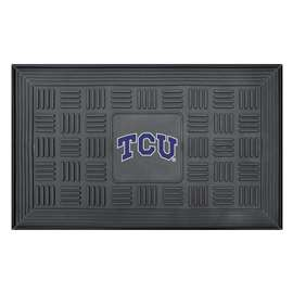 Texas Christian University  Medallion Door Mat