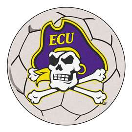 East Carolina University  Soccer Ball Mat, Rug , Carpet