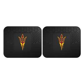 Arizona State University  2 Utility Mats Rug Carpet Mat