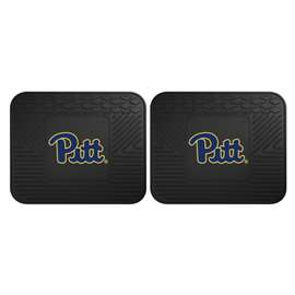 University of Pittsburgh  2 Utility Mats Rug Carpet Mat