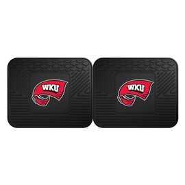 Western Kentucky University  2 Utility Mats Rug Carpet Mat
