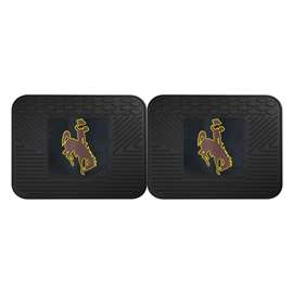 University of Wyoming  2 Utility Mats Rug Carpet Mat
