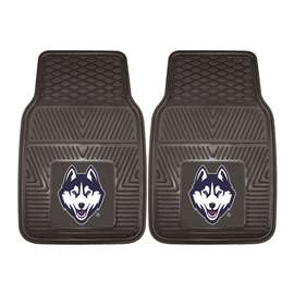 University of Connecticut  2-pc Vinyl Car Mat Set