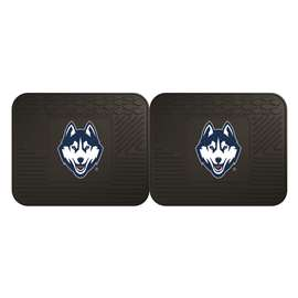 University of Connecticut  2 Utility Mats Rug Carpet Mat
