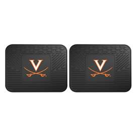 University of Virginia  2 Utility Mats Rug Carpet Mat