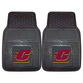 Central Michigan University  2-pc Vinyl Car Mat Set
