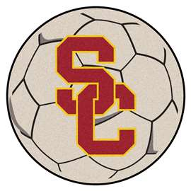 University of Southern California  Soccer Ball Mat, Rug , Carpet