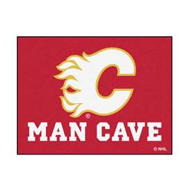 "NHL - Calgary Flames Mat, Rug Carpet 33.75""x42.5"""