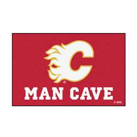 "NHL - Calgary Flames Mat, Rug Carpet 19""x30"""