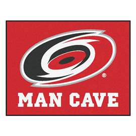 "NHL - Carolina Hurricanes Mat, Rug Carpet 33.75""x42.5"""