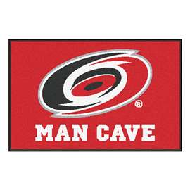 "NHL - Carolina Hurricanes Mat, Rug Carpet 19""x30"""