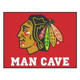 "NHL - Chicago Blackhawks Mat, Rug Carpet 33.75""x42.5"""