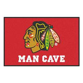 "NHL - Chicago Blackhawks Mat, Rug Carpet 19""x30"""