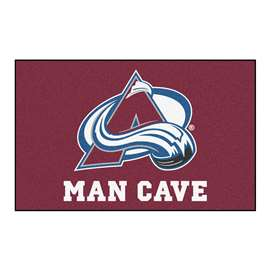 "NHL - Colorado Avalanche Mat, Rug Carpet 59.5""x94.5"""