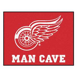 "NHL - Detroit Red Wings Mat, Rug Carpet 33.75""x42.5"""