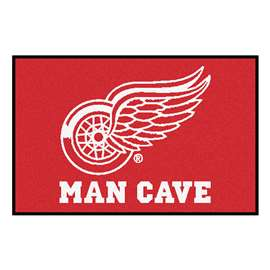 "NHL - Detroit Red Wings Mat, Rug Carpet 19""x30"""