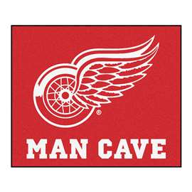 "NHL - Detroit Red Wings Mat, Rug Carpet 59.5""x71"""