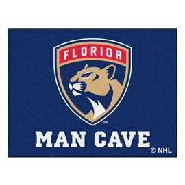 "NHL - Florida Panthers Mat, Rug Carpet 33.75""x42.5"""