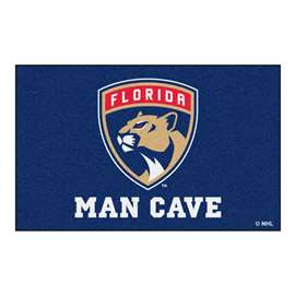 "NHL - Florida Panthers Mat, Rug Carpet 59.5""x94.5"""