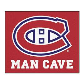 "NHL - Montreal Canadiens Mat, Rug Carpet 59.5""x71"""