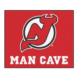 "NHL - New Jersey Devils Mat, Rug Carpet 59.5""x71"""