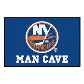 "NHL - New York Islanders Mat, Rug Carpet 19""x30"""