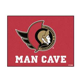 "NHL - Ottawa Senators Mat, Rug Carpet 33.75""x42.5"""