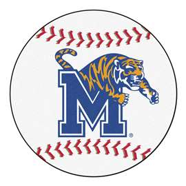 University of Memphis  Baseball Mat Rug Carpet Mats