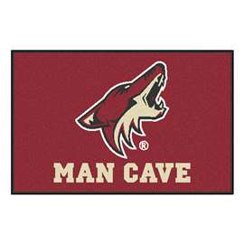 "NHL - Arizona Coyotes Mat, Rug Carpet 19""x30"""
