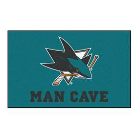 "NHL - San Jose Sharks Mat, Rug Carpet 59.5""x94.5"""