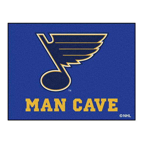 NHL - St. Louis Blues Man Cave All-Star Rectangular Mats