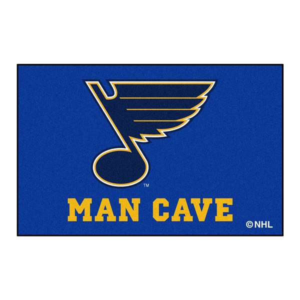 NHL - St. Louis Blues Man Cave Starter Rectangular Mats