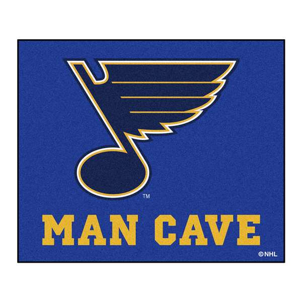 NHL - St. Louis Blues Man Cave Tailgater Rectangular Mats