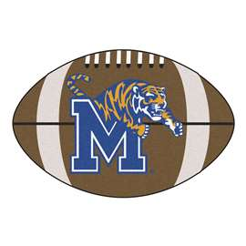 University of Memphis  Football Mat Mat Rug Carpet