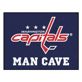 "NHL - Washington Capitals Mat, Rug Carpet 33.75""x42.5"""