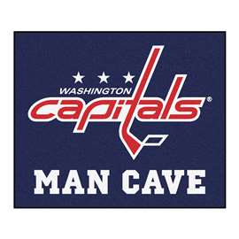 "NHL - Washington Capitals Mat, Rug Carpet 59.5""x71"""