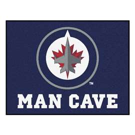 "NHL - Winnipeg Jets Mat, Rug Carpet 33.75""x42.5"""