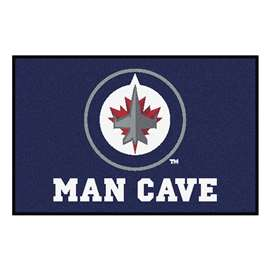 "NHL - Winnipeg Jets Mat, Rug Carpet 19""x30"""