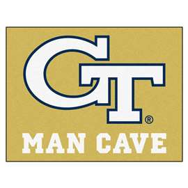 Georgia Tech  Man Cave All-Star Mat, Rug Carpet