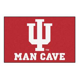 Indiana University  Man Cave Starter Mat, Rug Carpet