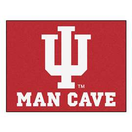 Indiana University  Man Cave All-Star Mat, Rug Carpet