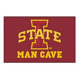 Iowa State University  Man Cave Starter Mat, Rug Carpet