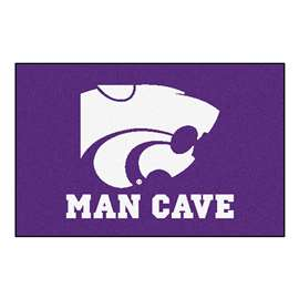 Kansas State University  Man Cave Starter Mat, Rug Carpet