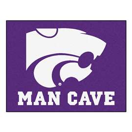Kansas State University  Man Cave All-Star Mat, Rug Carpet