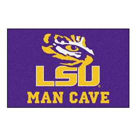 Louisiana State University  Man Cave Starter Mat, Rug Carpet