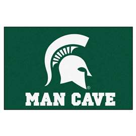 Michigan State University  Man Cave Starter Mat, Rug Carpet